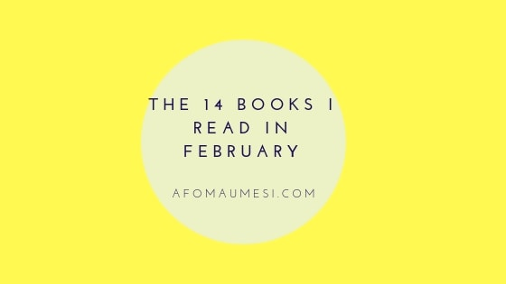 The 14 Books I Read in February
