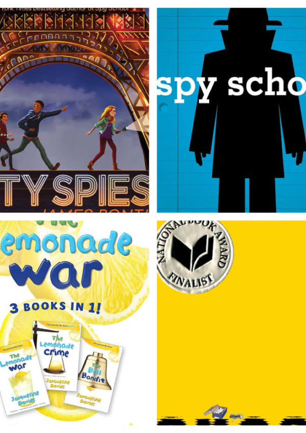 43 of the Best Middle-Grade Series and Companion Titles
