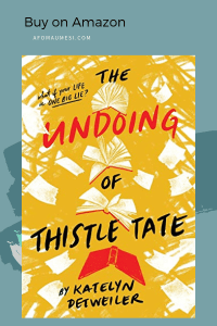 july 2019 book releases the undoing of thistle tate