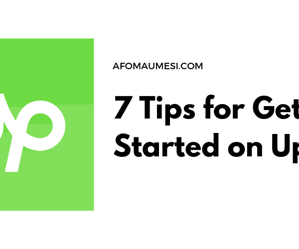 tips for getting started on upwork