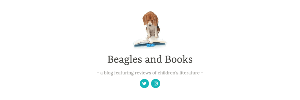 best kid lit blogs - beagles and books