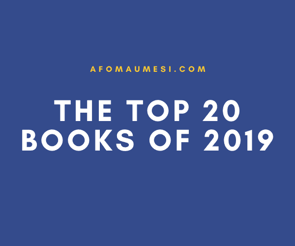 My Top 20 Reads of 2019