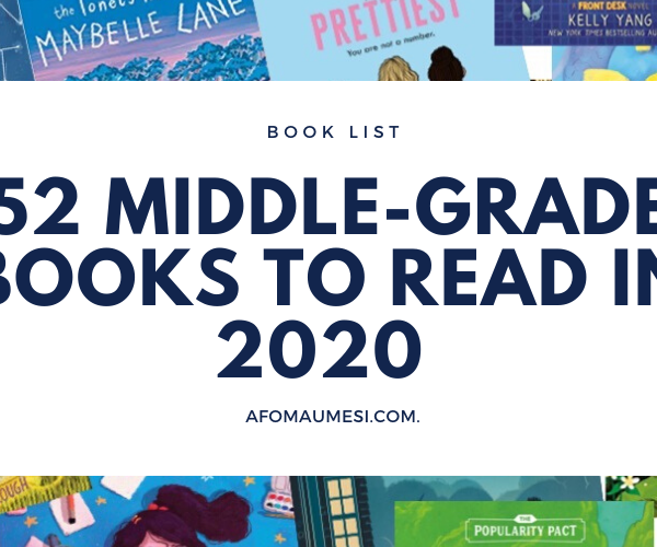 52 Middle-Grade and Chapter Books to Read in 2020