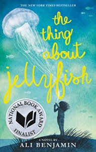 best middle-grade books about friendships - the thing about jellyfish
