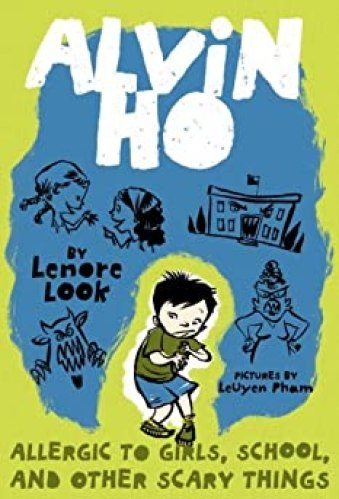 middle-grade books about anxiety - alvin ho