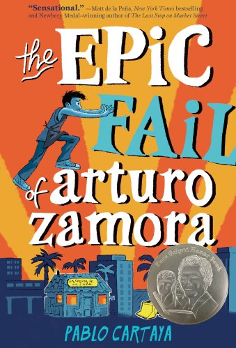 middle-grade books about families- The Epic Fail of Arturo Zamora