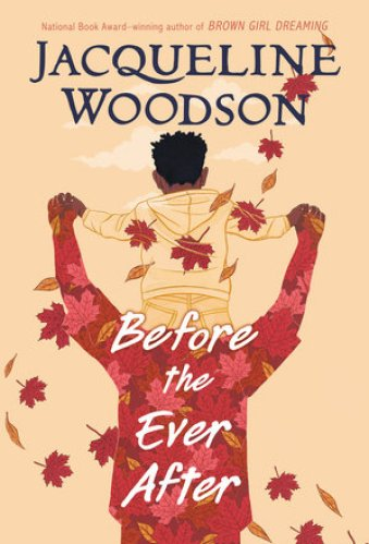 Before the Ever After - best middle-grade books about American football
