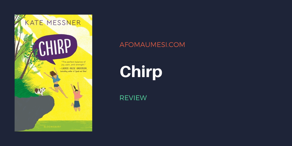 chirp - kate messner review