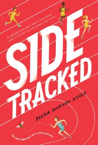middle-grade books about anxiety - sidetracked by diana harmon asher