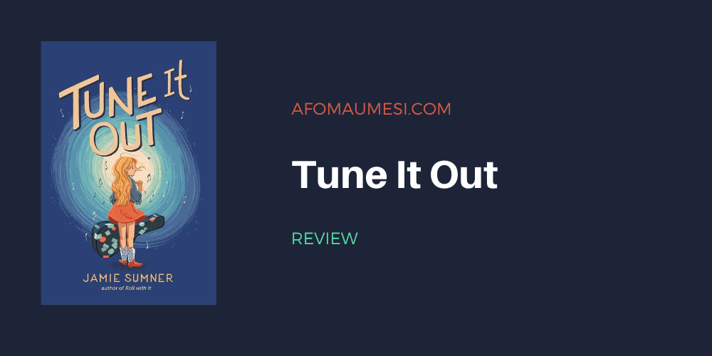 tune it out- jamie sumner review