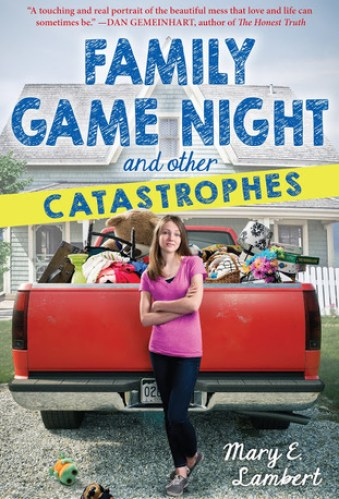 family game night and other catastrophes - middle grade books about mental illness