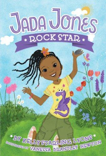 best chapter books for 3rd Graders - jada jones rock star