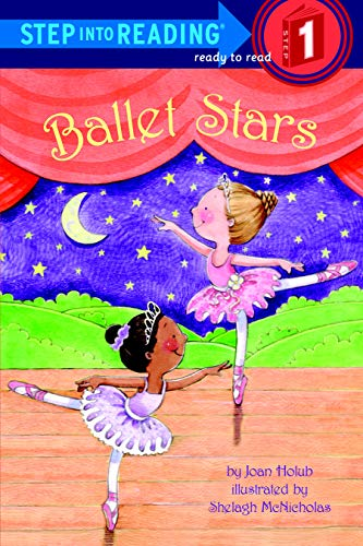 ballet stars - early reader about dance