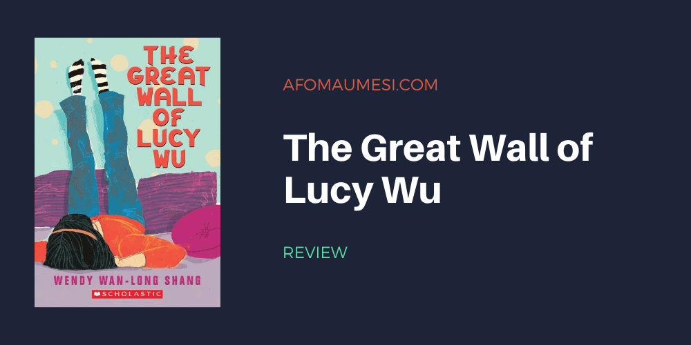 the great wall of lucy wu - book review