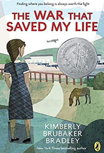 the war that saved my life - middle-grade books about anxiety