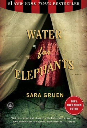 water for elephants - sarah gruen, best books with an older protagonist