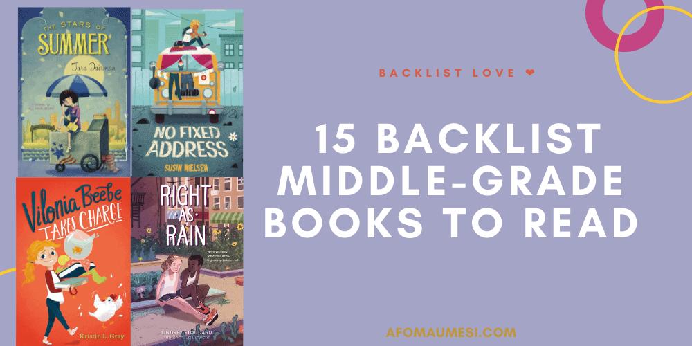 backlist middle-grade books