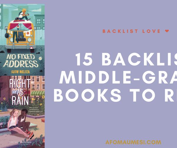 Backlist Love #2: 15 Backlist Middle-Grade Books on My TBR