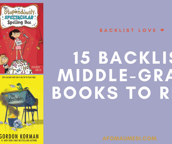 Backlist Love #3: 15 Middle-Grade Books on my TBR