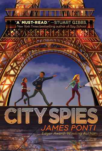 City Spies (Paris & Scotland) - Best Middle Grade Books Set in Europe