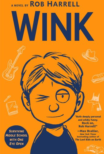 Wink - Best Middle-Grade Books About Body Image and Body Positivity