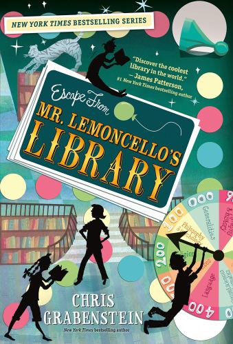 Escape from Mr. Lemoncello's Library - Best Middle Grade Books About Libraries
