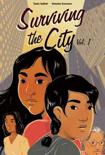 Surviving the City (Graphic Novel) - native american ya