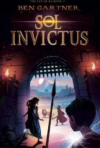 Sol Invictus (The Eye of Ra #2) (Rome, Italy) - Best Middle Grade Books Set in Europe