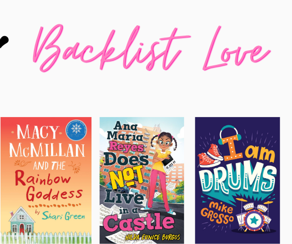 Backlist Love #4: 10 Middle-Grade Books on My TBR