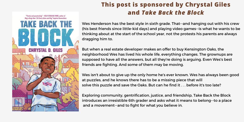 Take Back the Block - Chrystal Giles - Sponsored Post