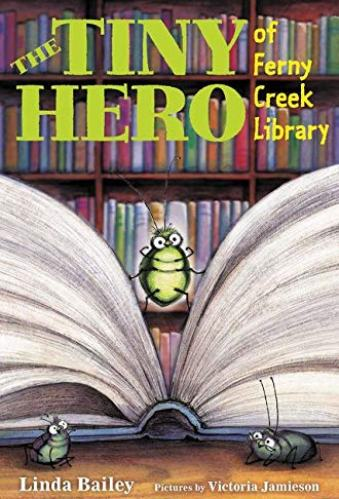 The Tiny Hero of Ferny Creek Library - Best Middle Grade Books About Libraries