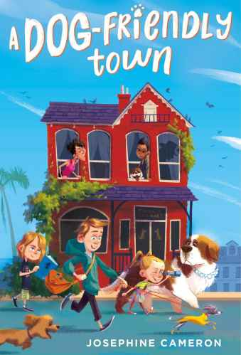 A Dog-Friendly Town - Best Middle Grade Books About Dogs