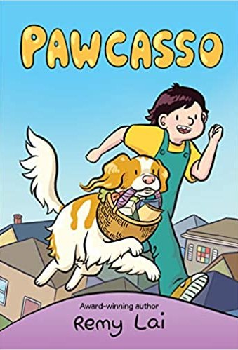 Pawcasso - best graphic novels for middle school