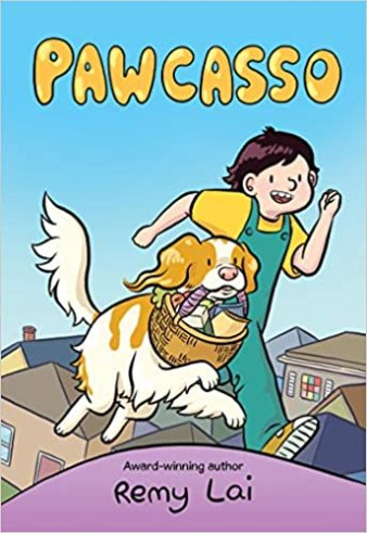 Pawcasso - Best Middle Grade Books About Dogs