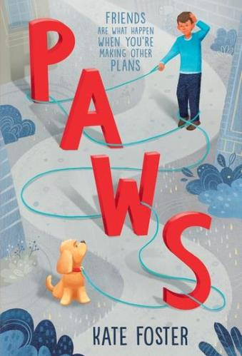 Paws - Kate Foster - Best Middle Grade Books About Dogs