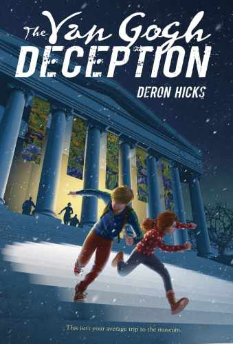 The Van Gogh Deception - Best Middle Grade Books About Art, Crafting and Photography