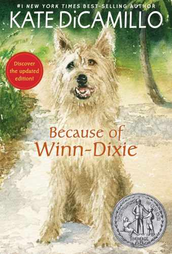 Because of Winn-Dixie - Middle-Grade Books About Animals
