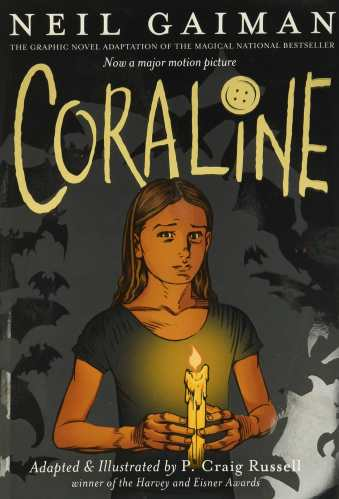 Coraline - Best Middle-Grade Graphic Novels