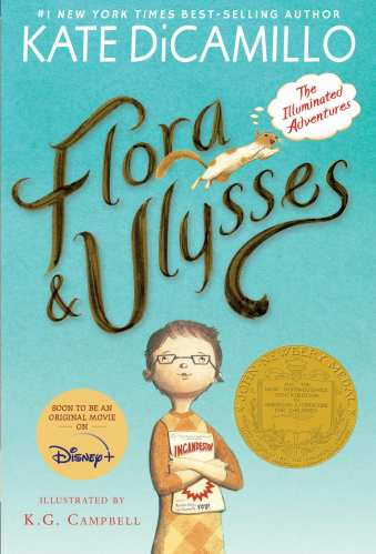 Flora & Ulysses: The Illuminated Adventures - Middle-Grade Books About Animals