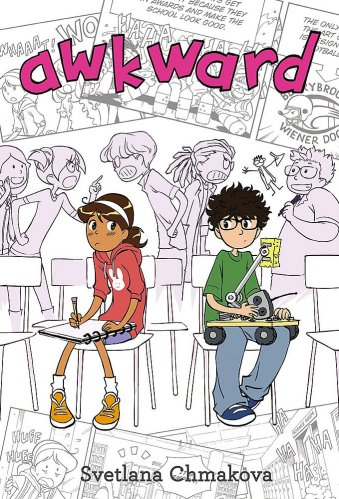 Awkward - best graphic novels for middle school