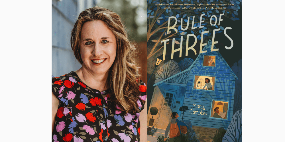 Marcy Campbell - Rule of Threes - Author Interview