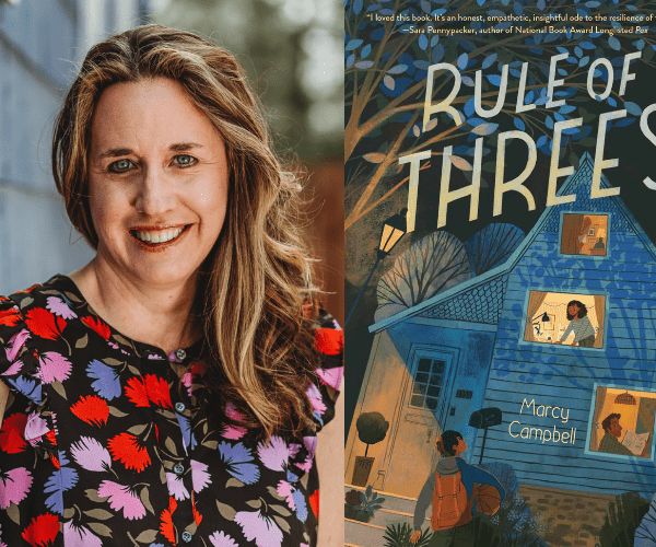 Marcy Campbell on Rule of Threes (+ INTL Giveaway)