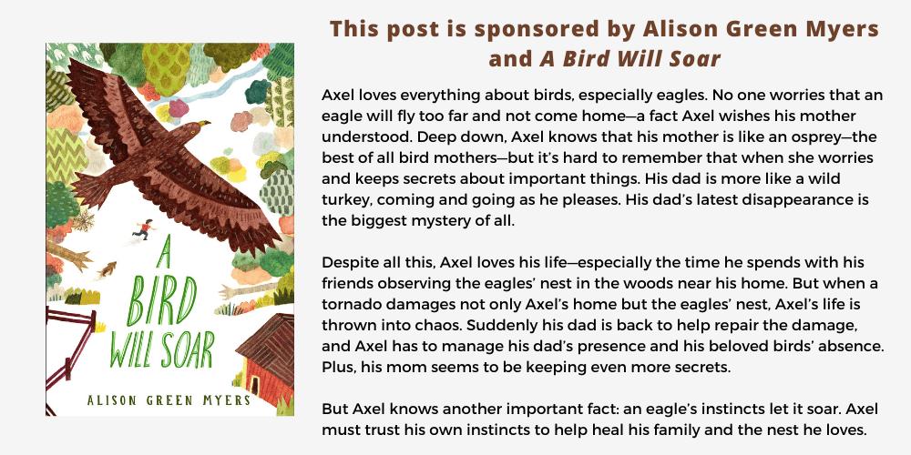 Sponsored post - A Bird Will Soar - Alison Green Myers