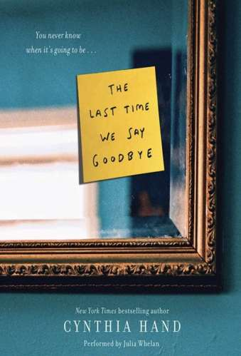 The Last Time We Say Goodbye - YA Books About Mental Illness