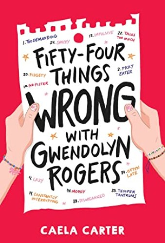 Fifty-Four Things Wrong with Gwendolyn Rogers - Best Middle Grade Books Releasing in Fall 2021