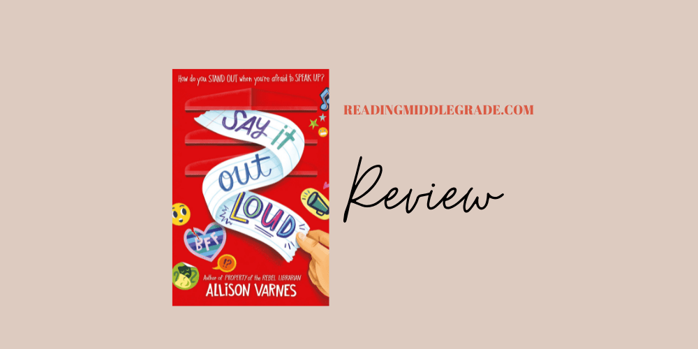 Say It Out Loud - Book Review