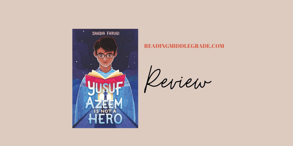 Book Review - Yusuf Azeem Is Not a Hero