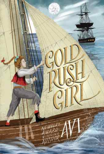 Gold Rush Girl - Middle Grade Action and Adventure Books