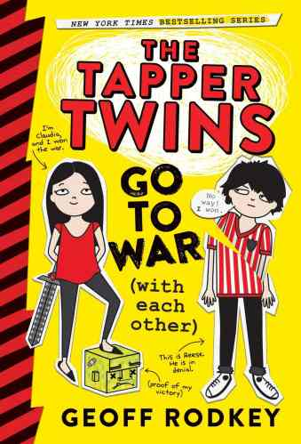 The Tapper Twins Go to War (with Each Other) - The Best Funny Middle-Grade Books