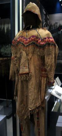 Athabascan mans tunic late 1800s